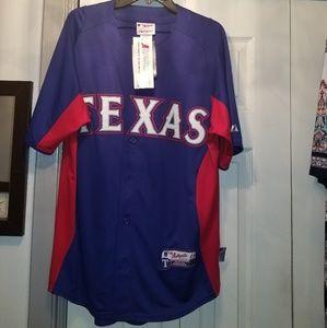 Texas Ranger Authentic Majestic Jersey